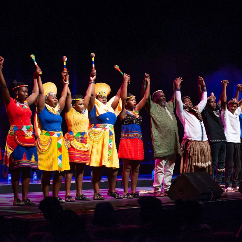 The AFRICAN HERITAGE ENSEMBLE Live at JOBURG Theatre